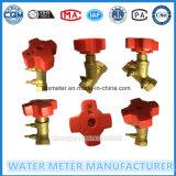 Messingkugelventil-Wasser-Messinstrument-Absperrschieber-Teile