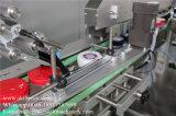 Автоматическая верхняя машина для прикрепления этикеток Китай опарников дна и стороны поверхностная
