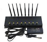 Регулируемый Jammer сигнала WiFi GSM сотового телефона 8 антенн Desktop