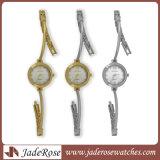Edelstahl-Uhr-Dame-Uhr-Japan-Bewegungs-Uhr