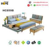 رخيصة! ! ! خشبيّة غرفة نوم بناء سرير ([هك859])