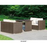 Muebles al aire libre de la rota de Morden con la pequeña mesa de centro