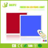 El cuadrado plano de la luz del panel del RGB 48W 600X600 LED de la iluminación No-Oscila