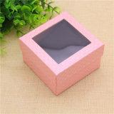 Случаи коробок вахты творческой конструкции упаковывая бумажные с окном