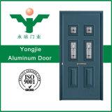Дверь Двойн-Листьев виллы алюминиевая с головкой двери