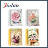 El fabricante impreso mariposa de Proffessional de las flores vende al por mayor la bolsa de papel barato hecha