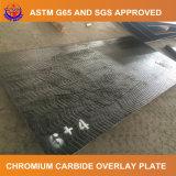 Placa del recubrimiento de la autógena del carburo del cromo