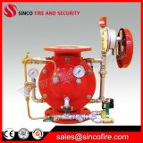 Válvula do dilúvio do aço inoxidável com os acessórios da válvula de alarme