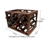 Étagère européenne de bouteille de vin de mode en bois de vin rouge de crémaillère de vin