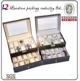 Rectángulo de almacenaje de empaquetado de la caja de presentación del rectángulo del reloj de la alta calidad (Ys101)