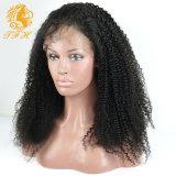 Париков человеческих волос фронта шнурка париков Afro девственницы парики человеческих волос шнурка монгольских Kinky курчавых полные для париков шнурка чернокожих женщин передних