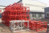 2017 grua elevada quente popular da construção da gaiola 50m do dobro da carga das vendas Sc200/200 2t