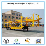 中国の製造からの自動車運搬船の半トラックのトレーラー