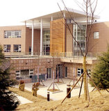 Casa de acero ligera del chalet como edificio de oficinas prefabricado