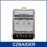 単一フェーズのタンパーの保護電気のメートル(DDS2111)