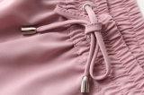 Beiläufige elastische Taillen-Normallack-Frauen-Chiffon- Hosen