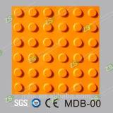 Плитка Anti-Slip настила строительных материалов TPU резиновый тактильная