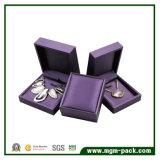 Cadre de bijou en cuir personnalisé à extrémité élevé d'unité centrale
