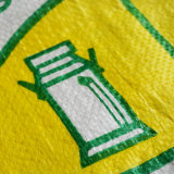 Sacco tessuto pp di plastica del sacco dell'imballaggio di BOPP (W-1065)