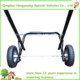 Außenbordmotor-Bewegungsstandplatz-Laufkatze mit pneumatischem Rad