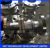 Шариковый клапан CF8 Stainess стальной плавая