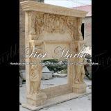 Camino di pietra di marmo esterno Mfp-183 dell'oro del deserto del granito