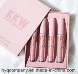 O Kkw o mais novo pelo batom líquido Matte 4PCS/Set ajustado do batom de Kylie Cosmético Kylie