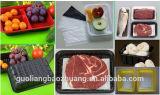 Bandejas plásticas frescas disponibles Thermoformed automáticas de la carne del agua avanzada del arte que aspiran para el supermercado