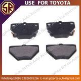 Gebruik voor Stootkussen 04466-52030 van de Rem van het Deel van de Auto van de Prijs van Toyota Concurrerend