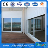 Casement de alumínio Windows do indicador Louvered/obturador de rolamento