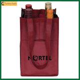 Sac d'emballage non-tissé de bouteilles d'Eco 4, sac de bouteille (TP-WB031)