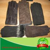 Gants de basane de Shearling des hommes/garniture classique de fourrure de gants basane des femmes/gants de Lambskin