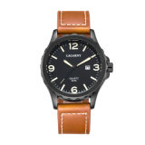 Износ светящих рук Sizebig случая Wristwatch 4.6mm Unisex