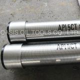 Apt Stc Thread End Wire Wrapped Slot Contínuo Johnson Water Well Screens Pipe