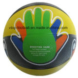 Diseño material de goma del baloncesto de la mano nuevo