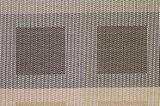 Klassische Jacquardwebstuhl-Webart-Isolierung rutschfestes Kurbelgehäuse-Belüftung gesponnenes Placemat für Tischplatte u. Bodenbelag