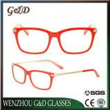 Het recentste Frame Cc1706 van de Glazen van het Oogglas van Eyewear van het Frame van de Acetaat van het Ontwerp In het groot Optische