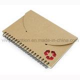 Cahier spiralé de papier d'école réutilisé par papeterie bon marché pour les élèves (SNB113)
