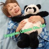 avec le panda mou de bonnet de nuit de jouet de peluche de peluche de chapeau de chapeau