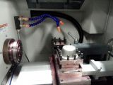 Machine de tour de vitesse de haute précision de commande numérique par ordinateur avec le longeron de guide en forme de boîte