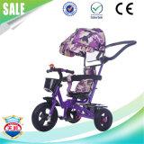 中国3の車輪の子供のバイクの工場卸売のFoldable赤ん坊Trike
