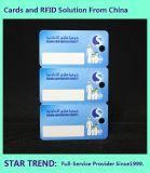 Cartão do Tag Card/RFID usado na logística