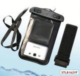 Niedriger Preis u. Qualitäts-wasserdichte Beutel mit Arm-Brücke für Samsung S3 S4