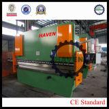 Freio da imprensa hidráulica do CNC WE67K-300X4000 e máquina de dobra da placa