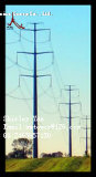 132kv de Mast van de Lijn van de Transmissie van de macht