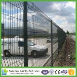 frontière de sécurité lourde de treillis métallique en métal de grosseur de maille de 50X200mm