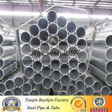 Tubo material del soldado enrollado en el ejército de S235jr S355