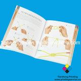 Impression de livre de panneau mou, attache parfaite (OEM-SC003), impression polychrome