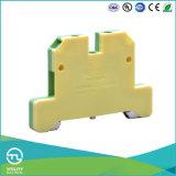 Блок присоединительной клеммы рельса Utl Jut2-2.5 DIN земной