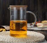 Transparente Escala Copa Medida de vidrio Copa Taza de leche Microondas Calefacción Leche Copa de vidrio